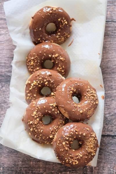 Donut végan sans gluten