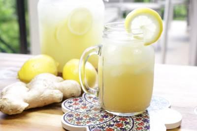 Limonade citron gingembre