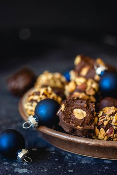 Rochers chocolat noisette