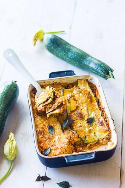 Lasagnes de courgettes sans pâte