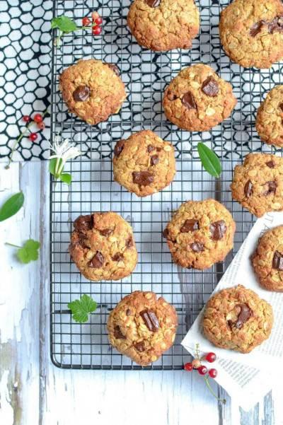 Biscuits crousti-fondants chocolat noix de coco