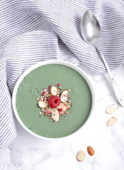 Smoothie bowl à la spiruline