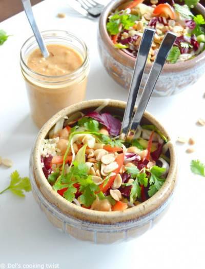 Salade thaïe au quinoa