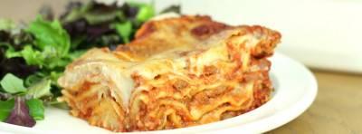 Lasagnes à la bolognaise végane aux PST