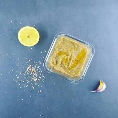 Caviar d'aubergine léger au sésame