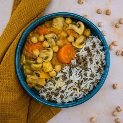 Curry veggie gourmand