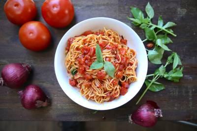 Spaghetti al pomodoro de JP