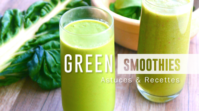 2 green smoothies d'Alice