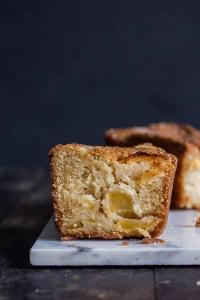 Cake aux pommes végan et parfait
