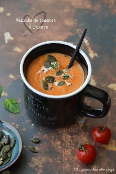 Velouté de tomates à l'okara