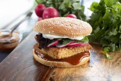 Hamburger de tempeh de Jean-Philippe