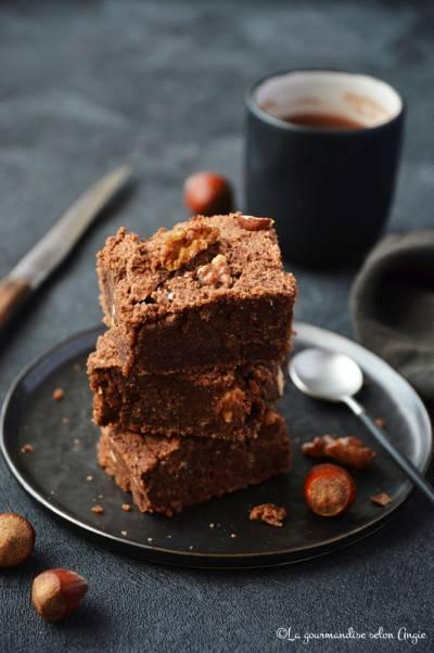 Brownies okara chocolat