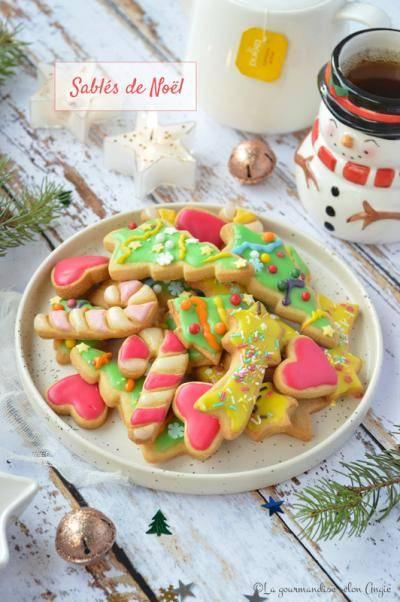 Biscuits sablés de Noël à l'amande