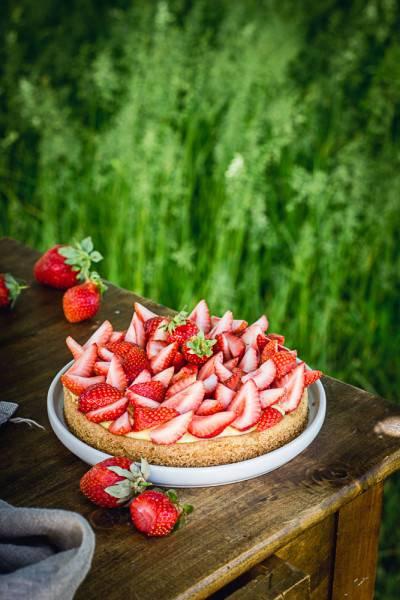 Sablé breton citron et fraise