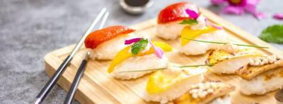 5 Sushis végans et leur riz vinaigré