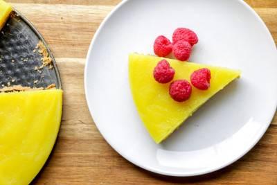 Tarte au citron végétalienne