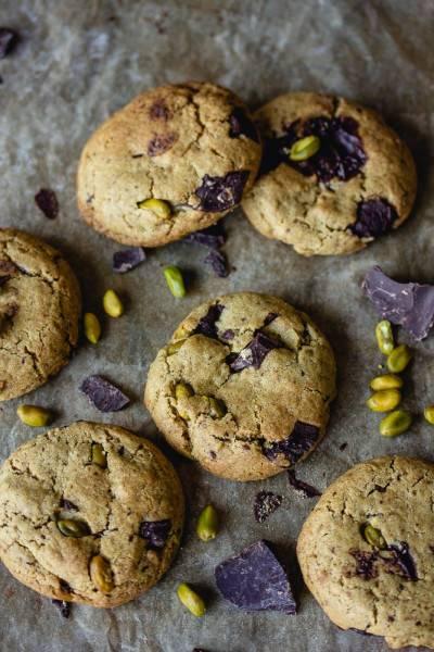 Cookies pistache chocolat