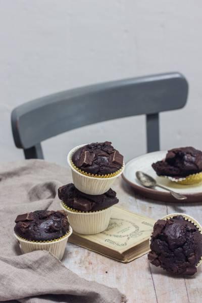 Muffins au chocolat de Délia